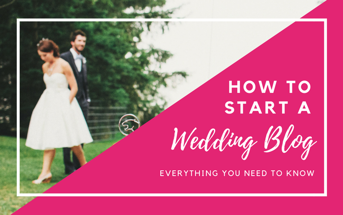 How to Start a Wedding Blog - great advice, step by step, everything you need to know to start a wedding blog now!